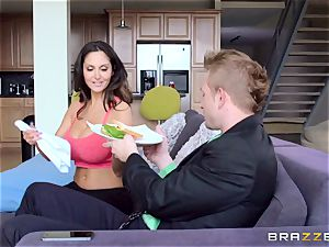 Ava Addams is banged in both her moist crevasses