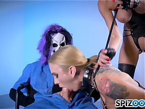 Monster with monster fuck-stick poking deep Sarah Jessie and Jessica Jaymes