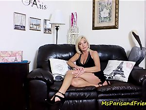 spunk on Mommy's titties with Ms Paris Rose