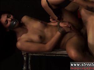 buttfuck bondage & discipline ache bondage hard-core petite, tatted, and very pretty, Gina Valentina is the