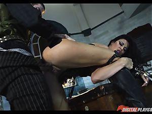 Jasmine Jae pulverized stiff
