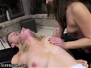 Rocco Siffredi and Kelly Stafford toughly predominate culo