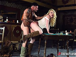 pounding the horniest cowgirl in the whole naughty West