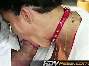 HDVPass veteran cougar Romi Rain gets super-naughty