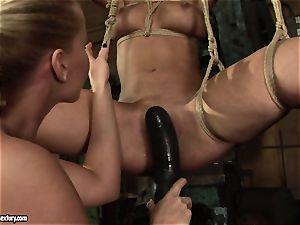 Kathia Nobili love boning the warm damsel with faux-cock