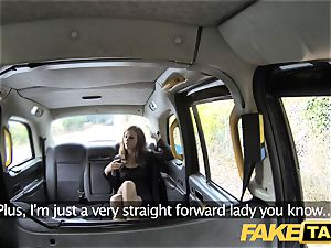 fake taxi Posh girls swollen twat and butt plowed