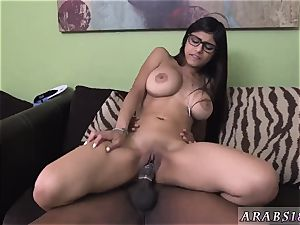 Getting fuck for money outside first time Mia Khalifa tries A humungous ebony pecker