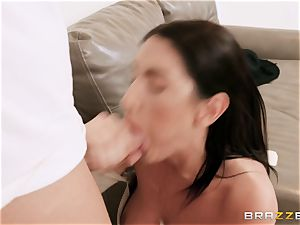 August Ames torn up stiff by Keiran