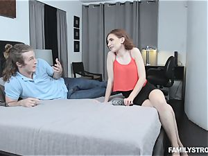 Kelsey Kage messing with her crazy step step-brother