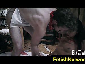 TeensInTheWoods Gina Valentina fuckfest marionette