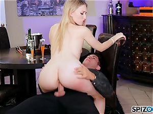 watch Riley Reyes taken a gigantic penis in every pose