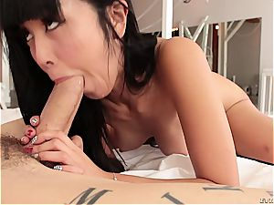 sweet chinese sex industry star Marika Hase torn up