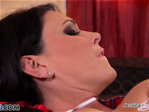 Jessica Jaymes and Nikki fuck each other, fat boobies