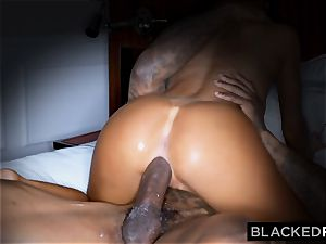 BLACKEDRAW wondrous molten wifey likes to rim dark-hued bulls in hotels