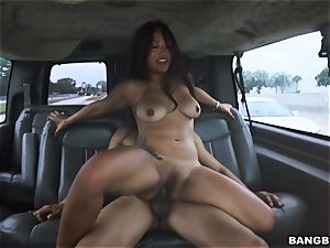 asian stunner picked up and humped
