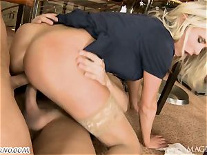 buzzed Head with his buddy romped barmaid
