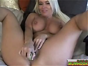 sizzling and super-steamy mom mastrubate so great